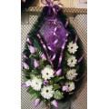 Ритуальный венок в форме бабочки № 1