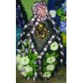 Ритуальный каплевидный венок № 52